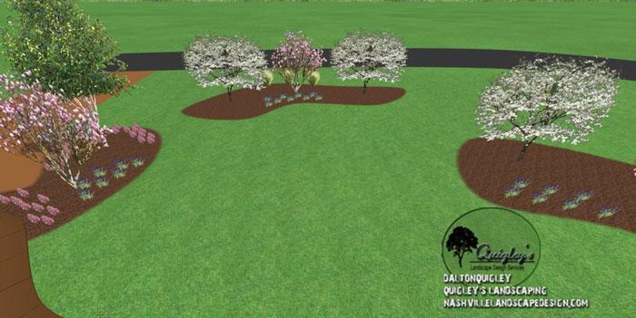 Field-Landscaping, in Nashville, Brentwood, Franklin, Spring Hill, and Nolensville TN.