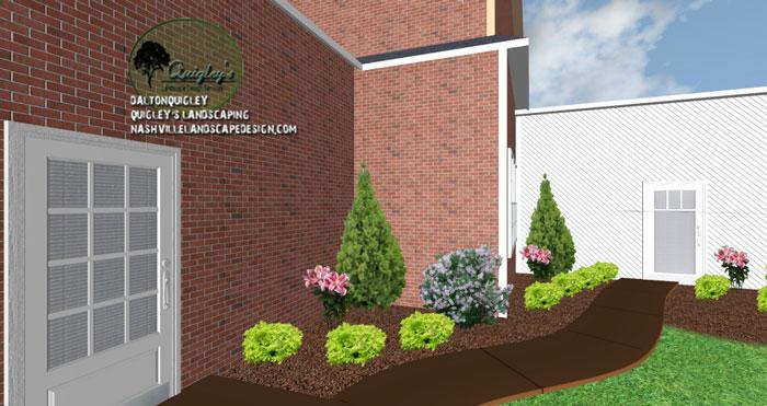 Franklin-TN-Backyard-Lavender, Nashville, Brentood, Spring Hill, and Nolensville TN.