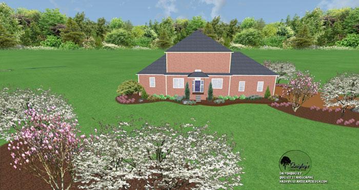 Franklin-TN-Mansion-landscape design, Nashville, Brentood, Spring Hill, and Nolensville TN.