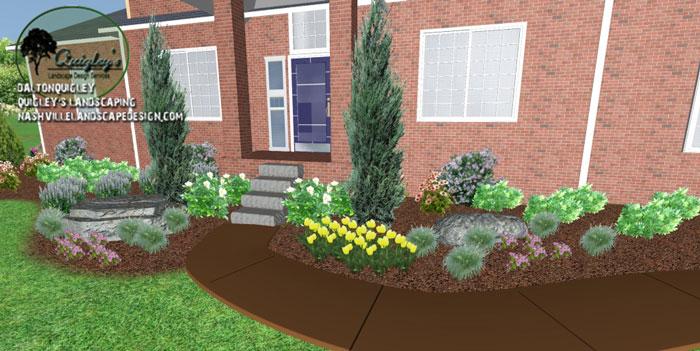Garden-Design, in Nashville, Brentwood, Franklin, Spring Hill, and Nolensville TN.