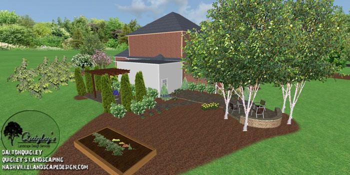 Landscape-Designer, for the areas of Nashville, Brentwood, Franklin, Spring Hill, and Nolensville TN.