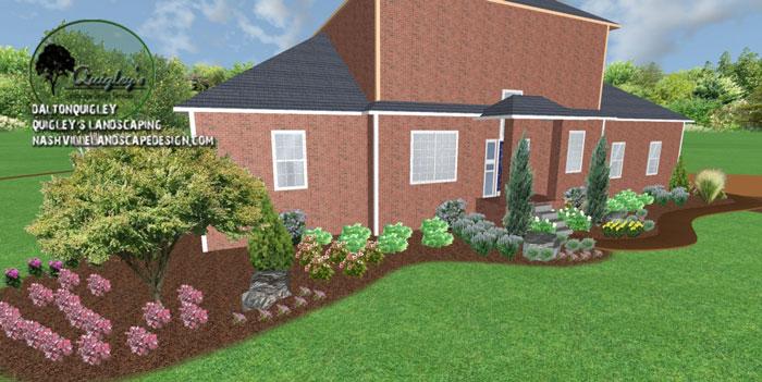 Landscape-Designer, in Nashville, Brentwood, Franklin, Spring Hill, and Nolensville TN.