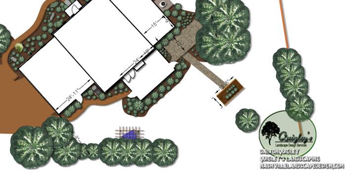 Landscape-Plan, in 3d landscape design. Our areas we service are Nashville, Brentwood, Franklin, Spring Hill, and Nolensville TN.