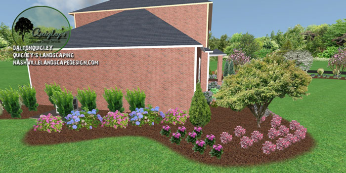 Landscaping-Contractor, in Nashville, Brentwood, Franklin, Spring Hill, and Nolensville TN.