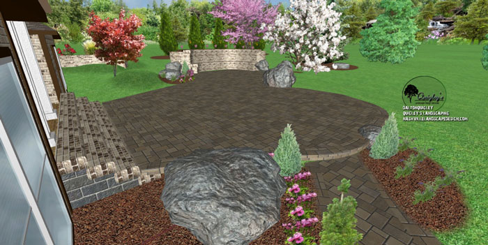 Nashville-paver-patio, for Nashville, Brentwood, Franklin, Spring Hill, and Nolensville TN
