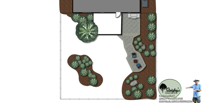 Spring-Hill-Backyard-Landscape Design