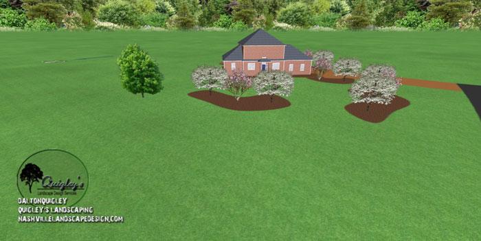 TN-Tree-Privacy-Landscape-Design, Nashville, Brentwood, Franklin, spring hill, and Nolensville Tennessee.