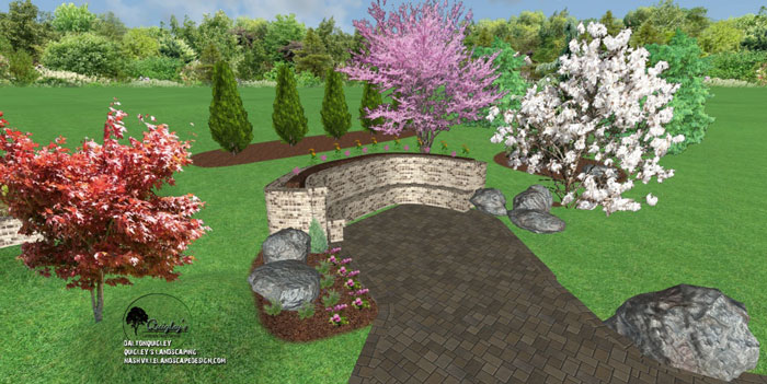 Thompsons-station-landscape design, for Nashville, Brentwood, Franklin, Spring Hill, and Nolensville TN