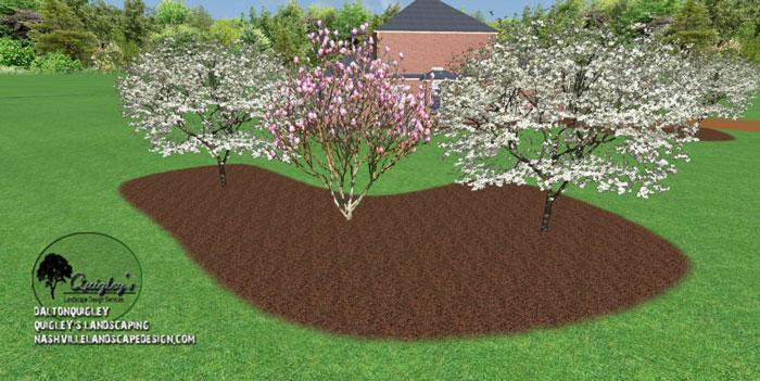 Tn-Magnolia-Landscape-Design, Nashville, Brentwood, Franklin, spring hill, and Nolensville Tennessee