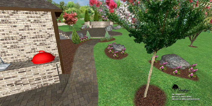 boulders-landscape-design, for Nashville, Brentwood, Franklin, Spring Hill, and Nolensville TN.