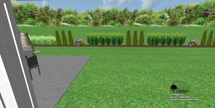 Spring hill backyard landscape design nashville for Springhill designs