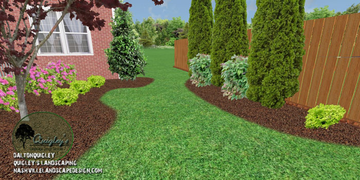 Spring hill tn back porch living nashville landscape for Spring hill nursery garden designs