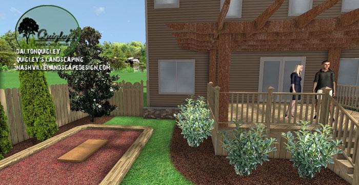 Patio enjoyment space nashville landscape design for Spring hill nursery garden designs
