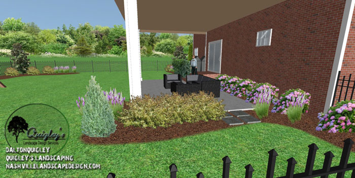 Fun back yard Nashville Landscape Design Services Quigley s Landscape D