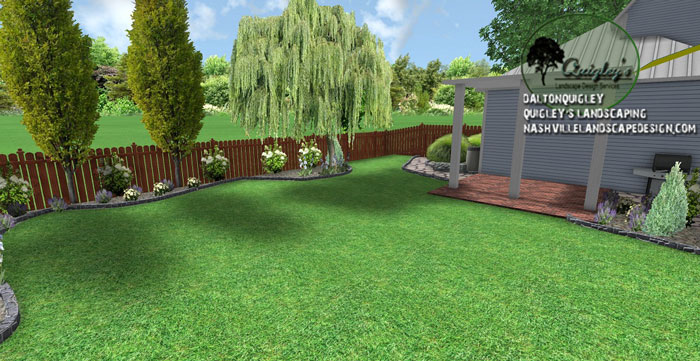 Nashville landscape renovation design nashville for Garden design nashville tn