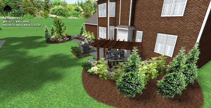 Landscape design in franklin tn nashville landscape for Garden design nashville tn