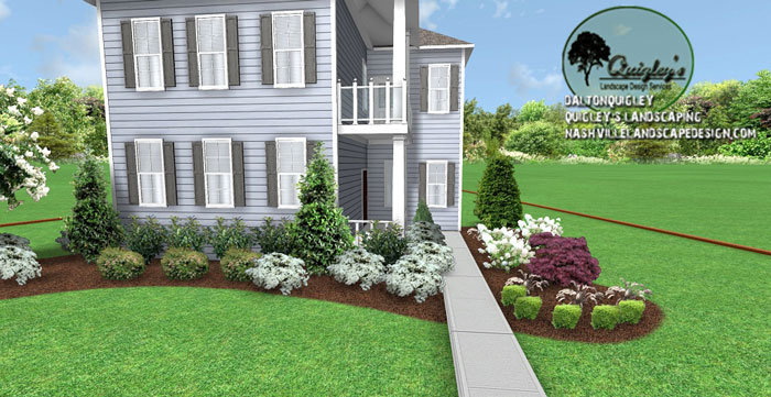 Franklin tn landscape hardscape design nashville for Garden design nashville tn