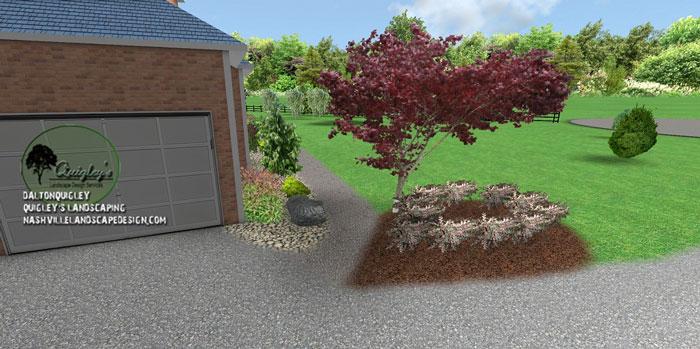 Franklin landscape renovation nashville landscape design for Landscape renovations