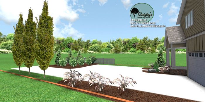 The romance nashville landscape design services quigley for Springhill designs