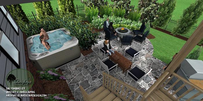 Jacuzzi-Landscape-Design