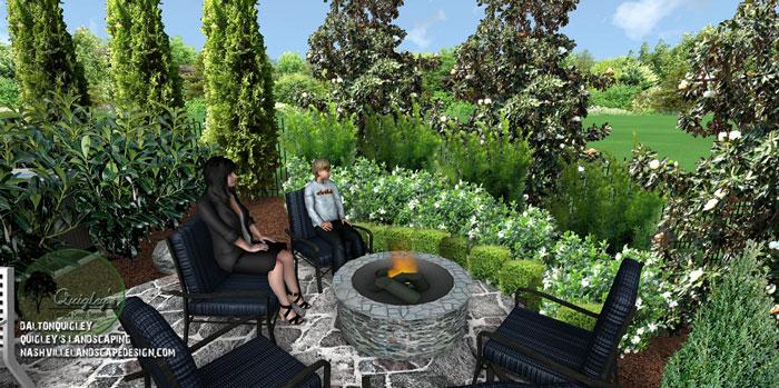 Landscape-Design-Fire-Pit