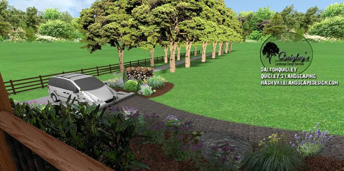 Franklin-Perennial-garden-design, butterflies and bee garden