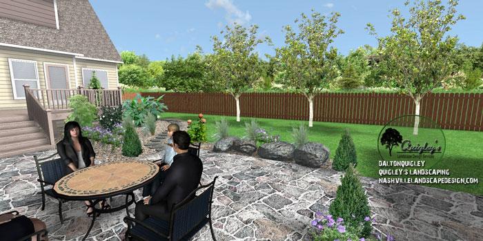 Italian-Landscape-Design, Nashville, Brentwood, Franklin, Spring Hill TN, Quigley's Landscaping and Landscape Design Service contractors.