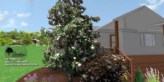 Magnolia-Landscape-Design, butterflies and bee garden