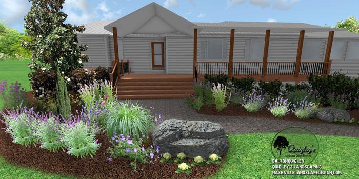 Nashville-Landscape-Designer, butterflies and bee garden