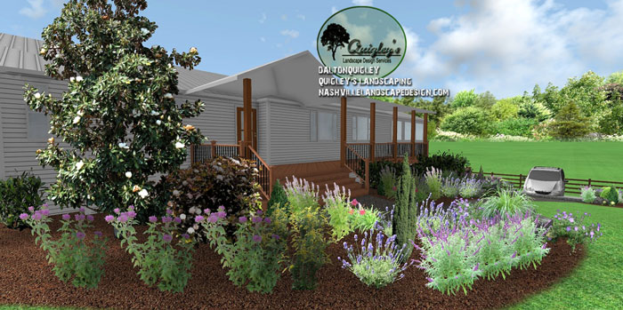 Nashville-Landscape-Designs, butterflies and bee garden