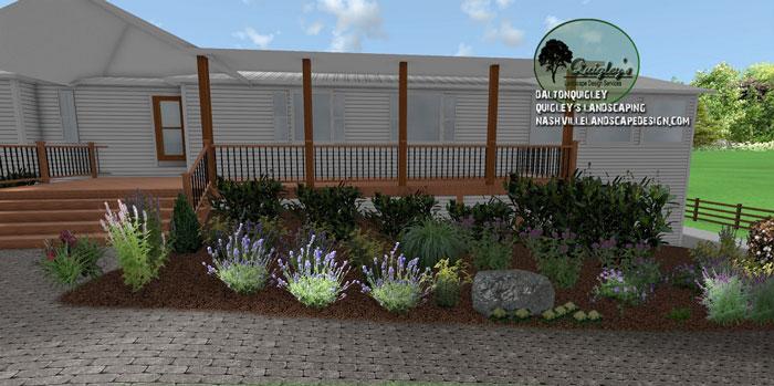 Nashville-garden-design, butterflies and bee garden
