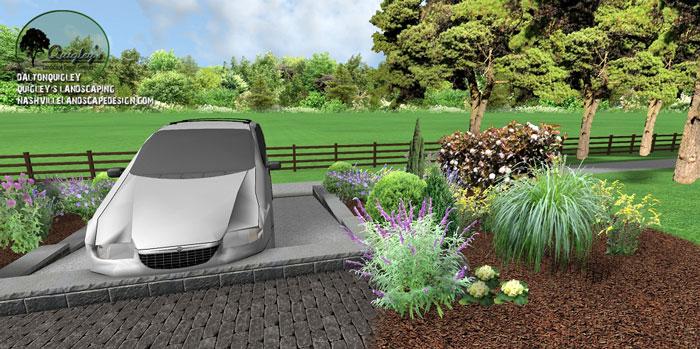 Nolensville-Landscape-Design, butterflies and bee garden
