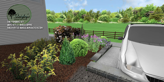 Nolensville-TN-Landscape-Design, butterflies and bee garden
