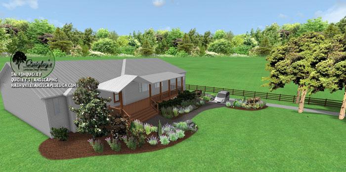 Ranch-cottage-garden, butterflies and bee garden