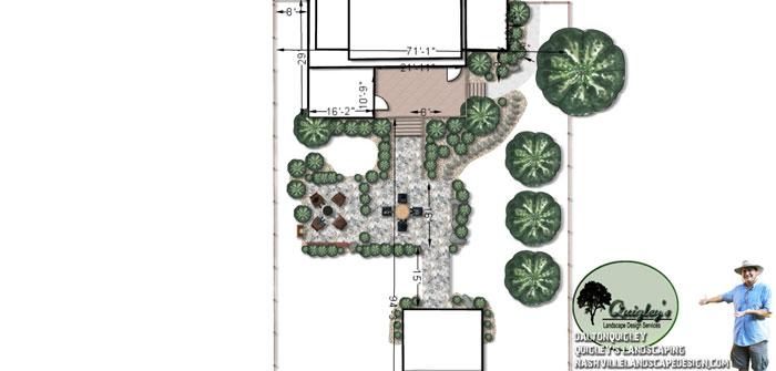 Spring-Hill-Landscape-company, Nashville, Brentwood, Franklin, Spring Hill TN, Quigley's Landscaping and Landscape Design Service contractors.
