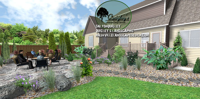 xeriscape, Nashville, Brentwood, Franklin, Spring Hill TN, Quigley's Landscaping and Landscape Design Service contractors.