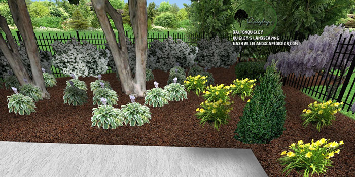 Back-Yard-landscaping-brentwood tn