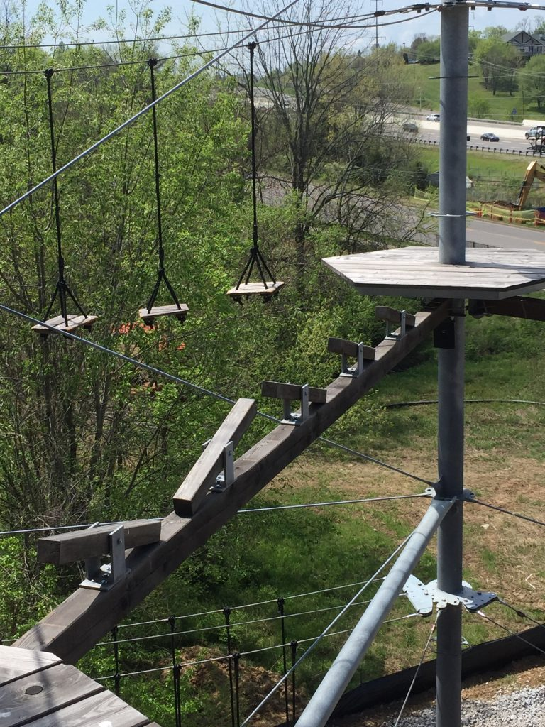 SOAR Adventure Tower Nashville adventure course