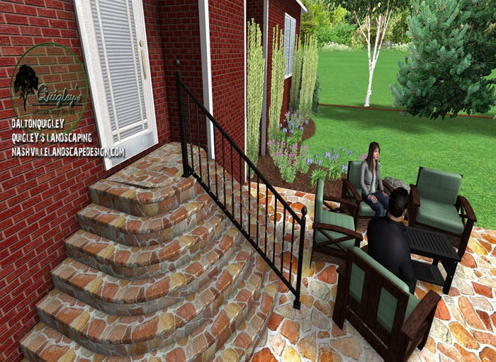 Nashville-Curved-Stone-Stepps