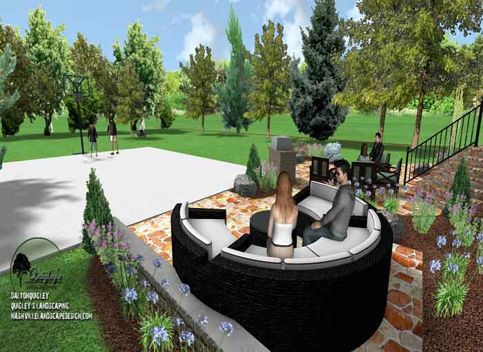 Outdoor-Rooms, Nashville, Brentwood, Franklin, Spring Hill, Nolensville TN Landscape Design Company