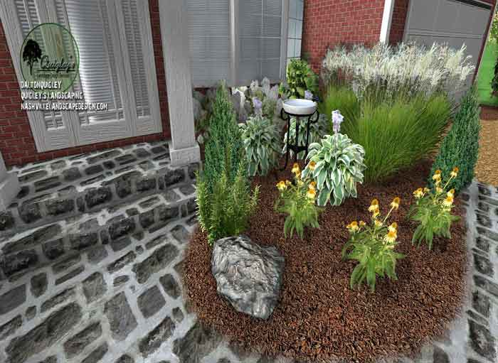 Birdbath-Landscape-Design-Franklin TN