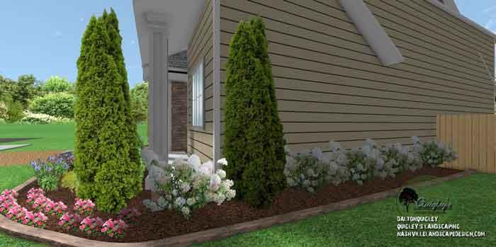 Corner-landscaping