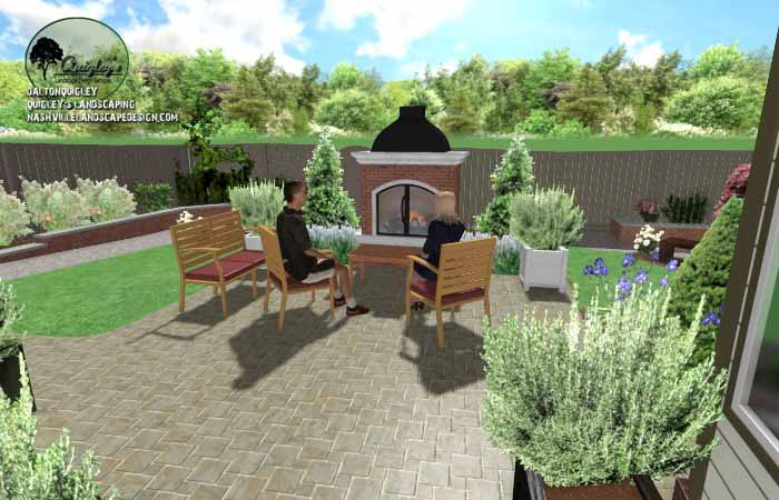Retirement Landscape Desig08