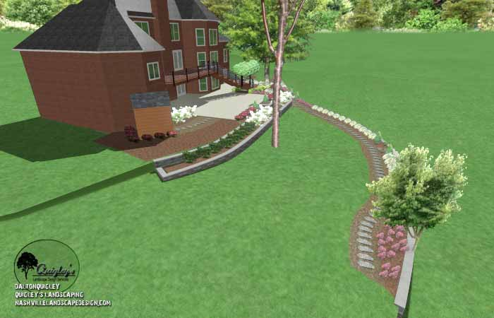 Landscaping a Slope30