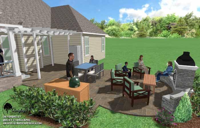 Franklin Backyard Hardscape006 Landscaping Company | Contractors
