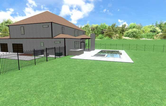 Pool Life backyard design001