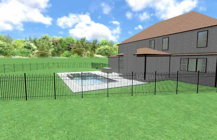 Pool Life backyard design003