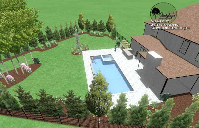 Pool Life backyard design009