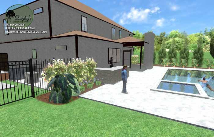 Pool Life backyard design026