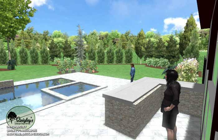 Pool Life backyard design029
